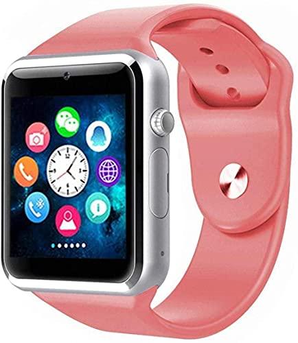 Men's Bluetooth Digital Outdoor Sports Watch Waterproof and Light Alarm Chronograph Calendar Calendar Watch (Color: Pink)