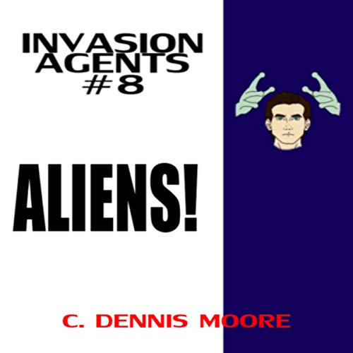 Aliens! audiobook cover art