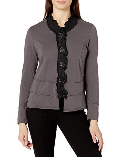 Neon Buddha Women's Laren Shirt, Gypsy Slate, Small