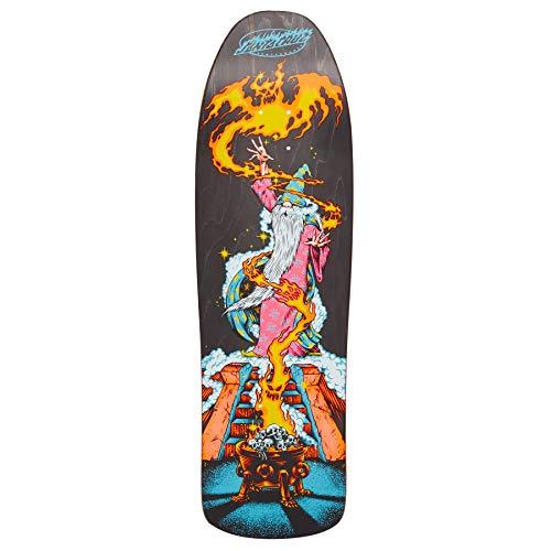 Santa Cruz - Tavola da Skateboard Fire Wizard, 23 x 80 cm