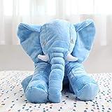 DANDANdianzi 40cm große Baby-weicher Plüsch-Elefant Schlafkissen Kinder Spielzeug-Zimmer...