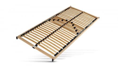 Hilding Sweden Lattenrost, 100 x 200 cm, mit 28 Latten aus Holz (Nicht verstellbar), Fertig montiert, Geeignet für alle Matratzen, Härtegrad 5-Fach justierbar