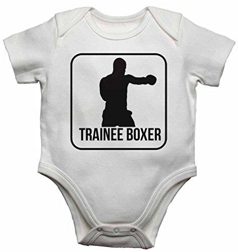 Trainee Boxer Strampelanzug, für Jungen und Mädchen, 9-12 Monate, Weiß