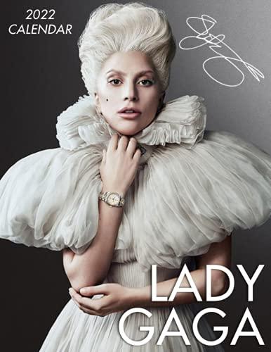 Lady GaGa Calendar 2022: 2022 music Calendar-18 months-Calendar planner - Music Pop Singer Songwriter Celebrity