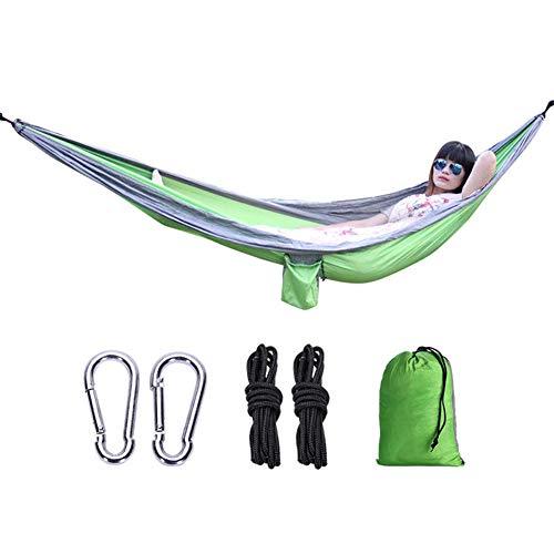 Hoodle Campinghangmat voor buiten, met bomen, duurzaam, licht, draagbaar, voor binnen en buiten