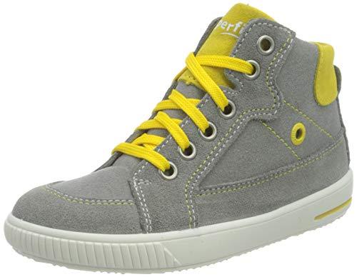 Superfit Moppy Sneaker, GRAU/GELB, 22 EU