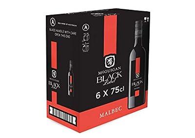 McGuigan Black Label Malbec, 2020,75 cl (Case of 6)