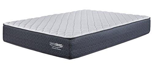 Ashley Furniture Signature Design - Sierra Sleep - Limited Edition Firm Mattress - Traditional Inner Spring Full Size Mattress - White