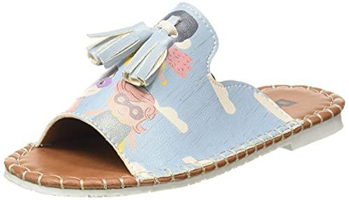 DOGO Cappi, Sandali Slide, Multicolore, 31 EU
