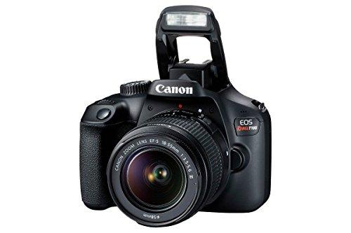 Canon EOS Rebel T100 con Lente EF-S 18-55mm III