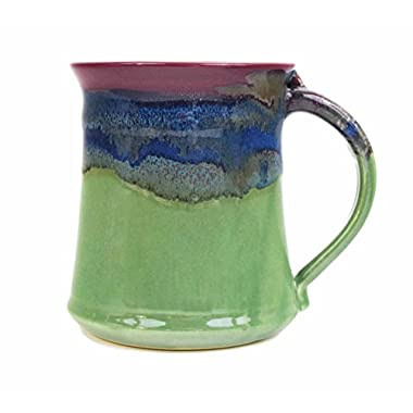Clay In Motion Handmade Ceramic Medium Mug 16oz - Mossy Creek