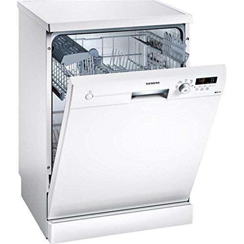 Siemens iQ100 SN215W00CE lavavajilla Independiente 12 cubiertos A+ - Lavavajillas (Independiente, Tamaño completo (60 cm), Blanco, Blanco, Botones, Giratorio, 1,75 m)