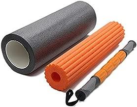 3 in 1 Foam Roller w/Massage Stick