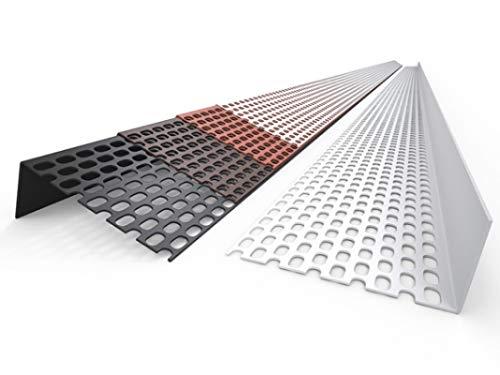 BWK Lüftungsprofil PVC 30/60 Farbe Braun