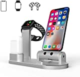 Charging Holder for Apple Watch,Aluminum Charging Phone Stand,for Airpods/Watch Series/iPhone