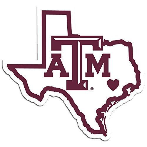 NCAA Siskiyou Sports Fan Shop Texas A&M Aggies Home State Decal One Size Team Color