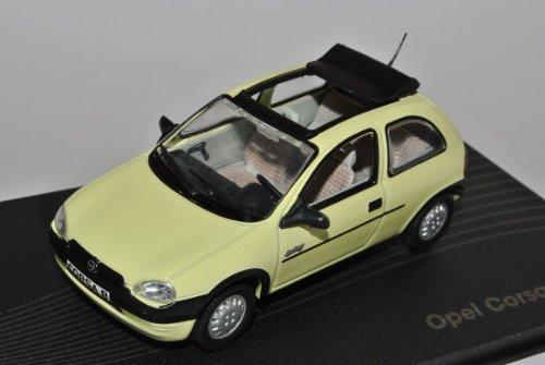 Opel Corsa B Swing Gelb 1993-2000 1/43 Modellcarsonline Modell Auto mit individiuellem Wunschkennzeichen