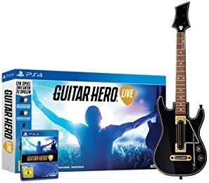 Guitar Hero Live for PS4 German Cover English Game product image