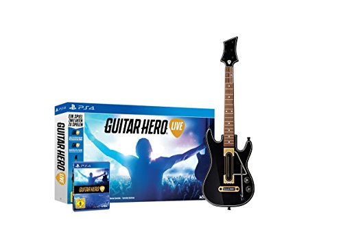 Guitar Hero Live for PS4 - German Cover/English Game