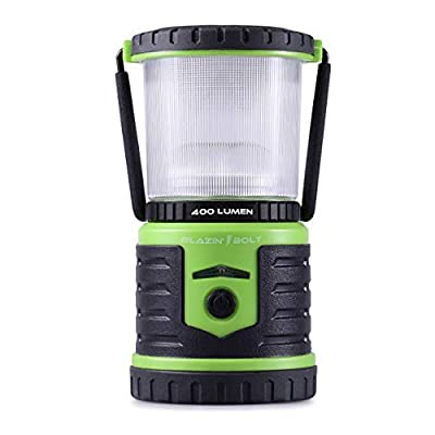 Blazin' Bison Battery Powered Rechargeable LED Lantern