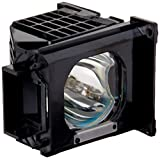 WOWSAI TV Replacement Lamp in Housing for Mitsubishi WD-73C8, WD-73C9, WD-82737, WD-82837 Televisions