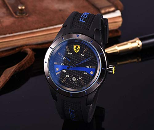 N-B Watches Europe and America Casual Fashion Men's Silicone Quartz Watches
