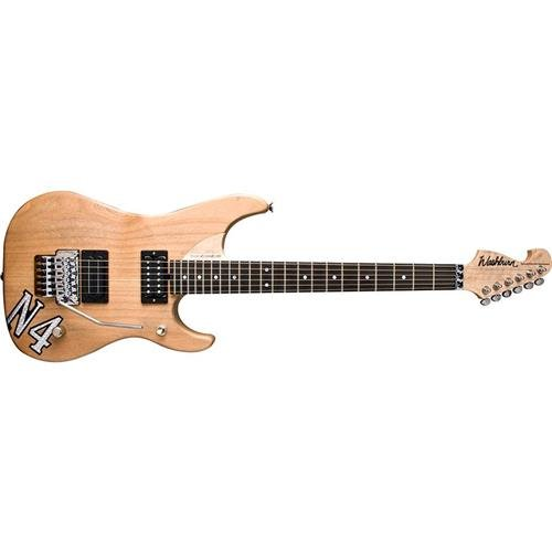 Cheap Washburn 6 String Solid-Body Electric Guitar Natural Distressed (N4VINTAGE-D) Black Friday & Cyber Monday 2019
