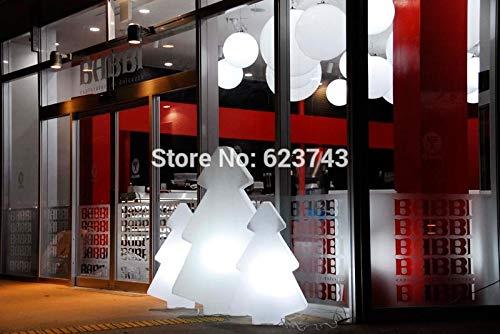 Outdoor Outdoor wasserdichte Weihnachtsdekoration Bunte austauschbare leuchtende Baum Stehlampe