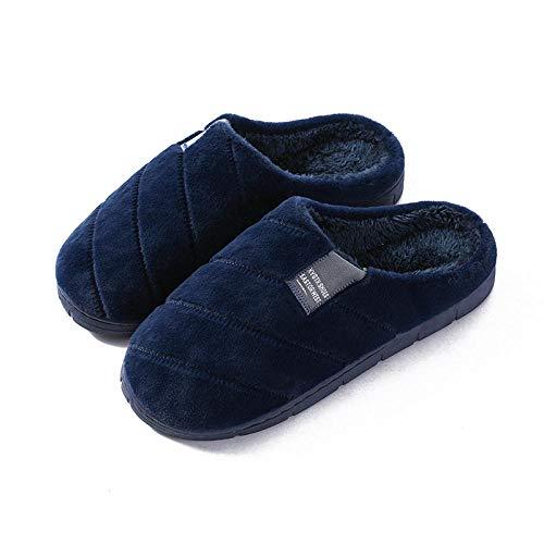 B/H weicher Memory-Schaum,Rutschfester Warmer Plüsch-Baumwollmopp,warme Schuhe für...