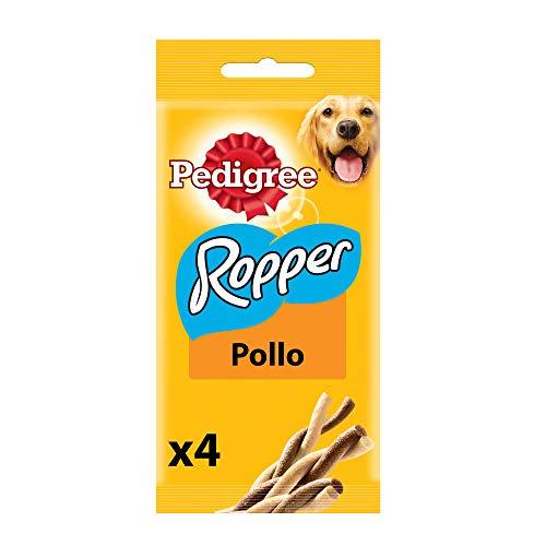 Pedigree Snack per Cane Ropper Pollo 70 g 4 Pezzi - 20 Confezioni (80 Pezzi in Totale)