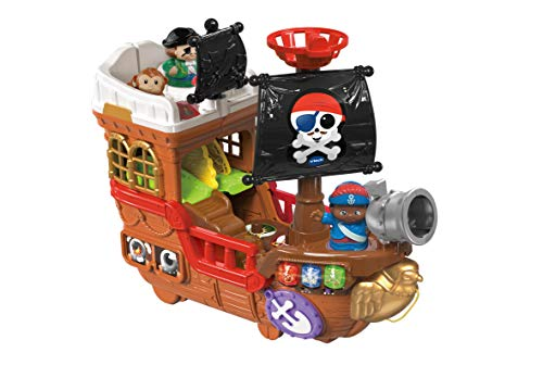 VTech 80-177873 Toot Friends Pirate Ship, Multi-Colour