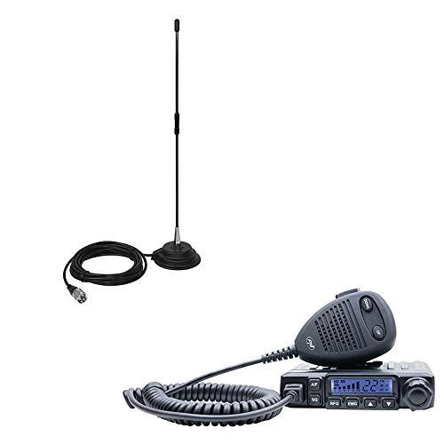 PNI CB-Funkgeräte Escort HP 6500 mit Antenne CB Extra 40