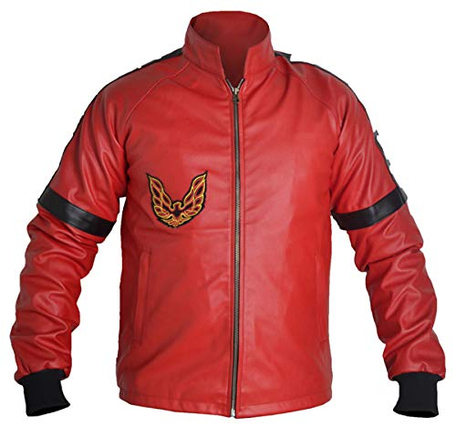 MSHC Smokey and the Bandit Burt Reynolds Red Bomber Leather Jacket (LARGE)