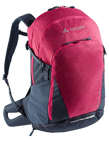 Vaude Damen Rucksäcke20-29l Women's Bike Alpin 24, Crimson Red, One Size, 14360