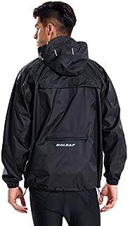 Baleaf Unisex Rain Jacket Packable Outdoor Waterproof...