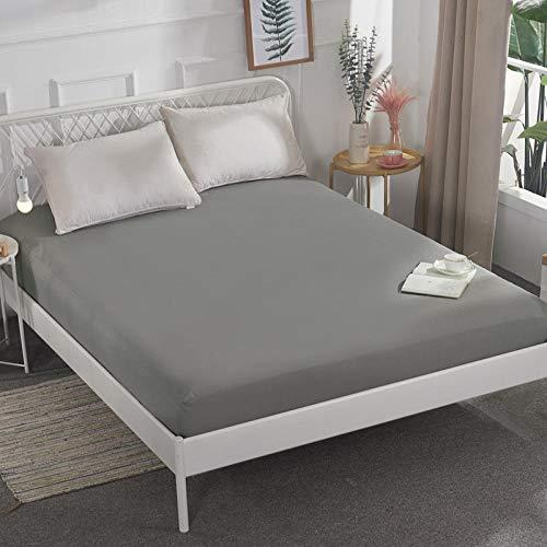 CYYyang Unterbett Soft-Matratzen-Topper, Matratzenschutz Boxspring-Betten geeignet Wasserdichtes Bettlaken einteilig atmungsaktiv - 10_180 * 200 cm