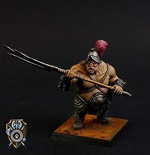 Shieldwolf Miniatures: Talliareum Ogre Barn Master (1x Multi-Part Resin 28mm Scale Figure) Warhammer 40k, Age of Sigmar, The 9th Age, Kings of War