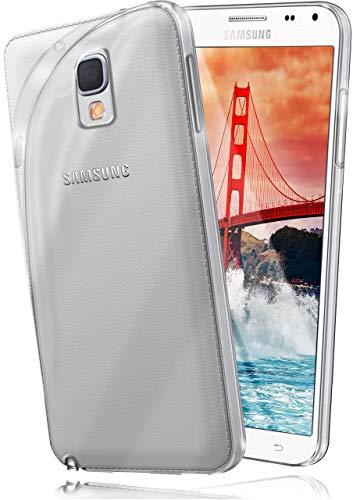 MoEx Funda [Transparente] Compatible con Samsung Galaxy Note 3 Neo | Ultrafina...