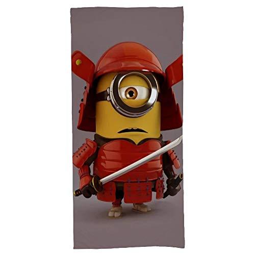 hoist Samurai Minion toallas de baño de algodón 70x140 cm toalla de playa grandes toallas deportivas camping accesorios