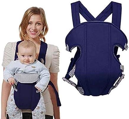 Canguru Carregador de Bebe Ergonomico Criança Baby Bag Passeio Azul Escuro (MC40524)