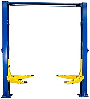 TRIUMPH NTO-9A 9000Lbs Two Post Clear Floor Overhead Auto Lift Hoist Car Lift