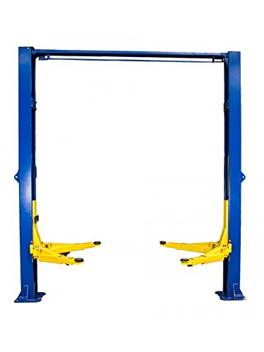 TRIUMPH NTO-9A 9000Lbs Two Post Clear Floor Overhead Auto Lift Hoist Car Lift