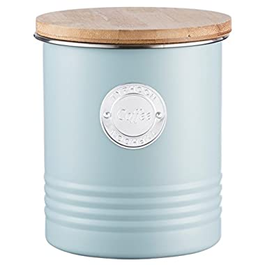 Typhoon Living Coffee Canister 1l, Blue