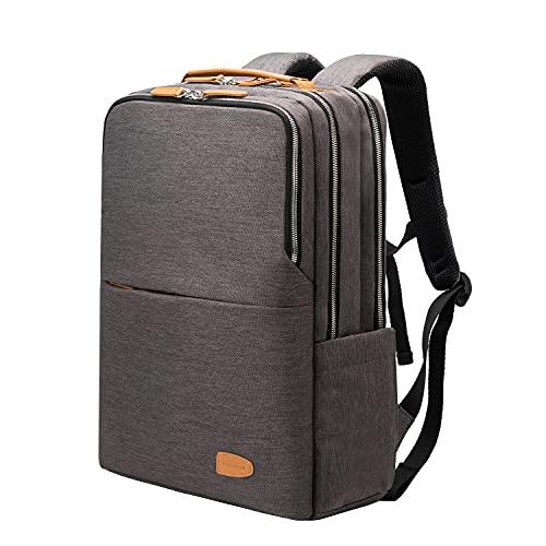 Rucksack Herren Laptop Business strapazierf?hige Tasche arbeits Freizeit wasserdicht Travel M?nner & Frauen School Studenten Damen City Computer-Tasche USB (Grey Plus)