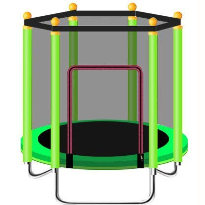 Yuany Indoor of Outdoor Trampoline Oefening - 1.2M Inklapbare trampoline, gemakkelijk te dragen, kan worden geplaatst in de kofferbak, kan ook buiten worden gebruikt,1.2m-Geel