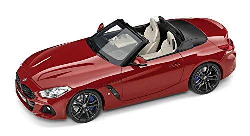 BMW - Modellino originale Z4 G29, in miniatura, scala 1:18, colore: Rosso San Francisco