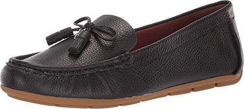 COACH Minna COH Leather Loafer Black 9