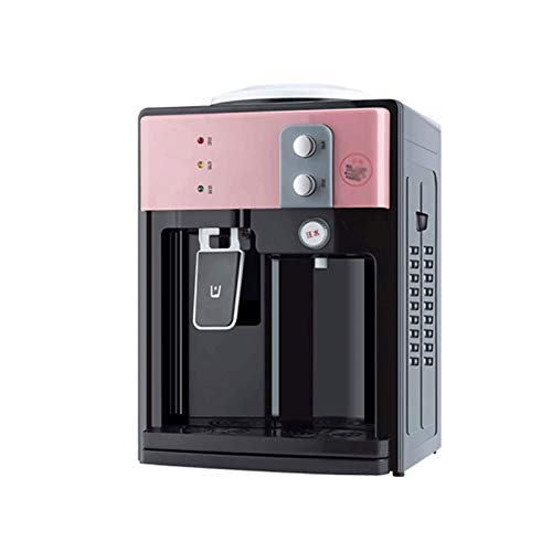 Sdesign Soporte del dispensador de la botella de agua con el grifo, el refrigerador de agua fría y caliente de encimera, ideal para el uso del dormitorio del estudiante de oficina en el hogar Dispensa