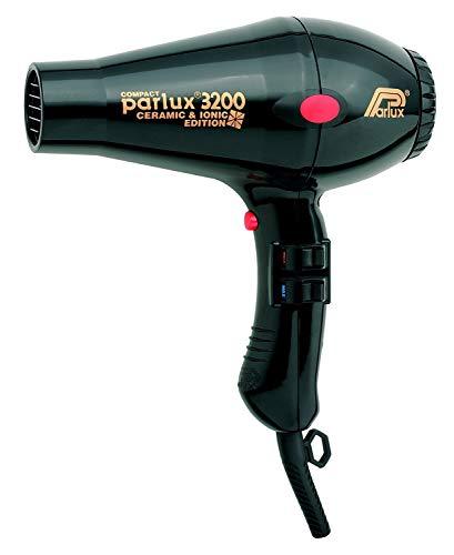 Parlux 3200 - Secador de pelo, 1900 W, color negro
