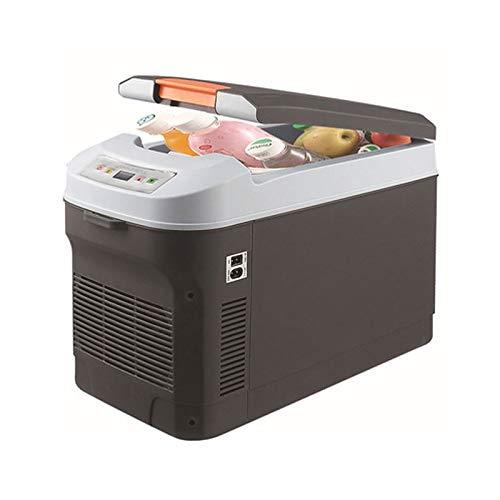 Nologo Diommest Mini-Kühlschrank, Doppel-Kühl 22L Kühlschrank for Familien-Auto, EIN Kleiner Kühlschrank for Auto-Schlaf, Geeignet for alle Modelle von 12V Bordspannung